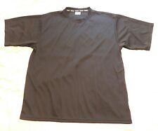 NWOT MENS KOMFIT ATHLETIC POLYESTER SHIRT XXL BLACK