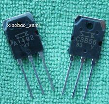 2pairs(4pcs) 2SA1492 & 2SC3856 SANKEN Transistor A1492 & C3856 TO-3P