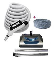 Central Vacuum 30ft 3 way hose Blackhawk electric powerhead kit Nutone Beam