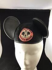 Vintage Mickey Mouse Ears Walt Disney World Hat