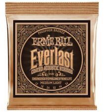 Ernie Ball 2546 - Jeu de cordes acoustique Phosphore Bronze - Everlast Coated -