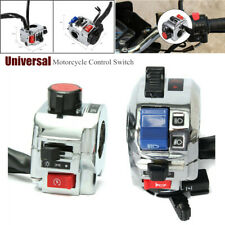 Universal 7/8'' 22MM Motorcycle Handlebar Light Horn Control Switches Assembly