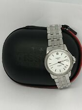 Ladies Tissot Ballade Jeweled Watch In Excellent Condition With Tissot Case.