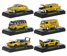 "AUTO THENTICS ""MOONEYES"" SPECIAL EDITION 6 PC CAR SET 1/64 M2 MACHINES 32500-S69"