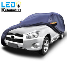 Heavy Duty Waterproof Full Car Cover Universal Suv Fits All Weather Protection Fits Jeep
