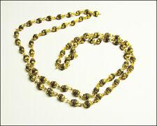Black Tulsi Mala / Shyam Tulshi Mala /  Holy Basil Rosary