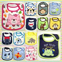 Baby Boys Girls Newborn Bibs Waterproof Saliva Towel Burp Cloth Bandana