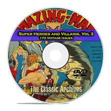 Super Hero, Villains, Vol 3, The Blue Beetle Bulletman Golden Age Comics DVD D68