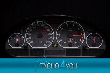 Tachoscheibe für BMW Tacho E46 Benzin oder Diesel M3 CARBON 3055 Tachoscheiben