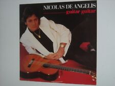 NICOLAS DE ANGELIS Guitar Guitar LP 1985