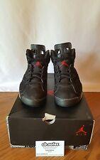 "Nike Air Jordan VI 6 ""Varsity Red"" Retro 2010 Size 10 100% authentic BRED OG OVO"