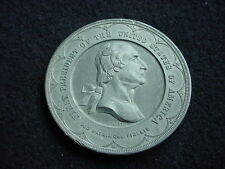 George Washington 1889 New York City Inaugural Centennial, Brooklyn Bridge Medal