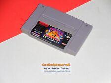 Nintendo SNES, FACEBALL 2000 (100% Authentic) Genuine Super