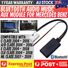 MERCEDES BENZ AUX AUDIO BLUETOOTH STREAMING MODULE W203 C E CLK ML W164 IPHONE