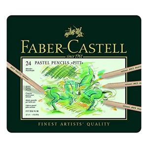 Faber-Castell Pitt Pastel Pencils 24 Pastels Pencils