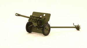 Exclusive! 76-mm divisional gun of the 1942 handmade resin 1:43