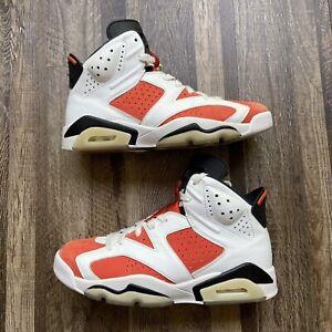 Nike Air Jordan 6 VI Retro Gatorade 384664-145 Size 9 Men's Orange/White