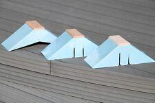 Sitzbrettchen, Taubensitz, Dreiecksitze10 Pack Kunststoff + Holz 10 Stück