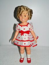 Vintage 1970s Ideal Shirley Temple Original Stand up & Cheer Dress  #1125