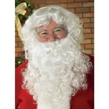 Adult Santa Beard & Wig Christmas Costume Accessory