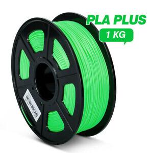 PLA Plus 3D Printer Filament 1.75mm 1KG 2.2LBS Per Roll More Toughness Non-Toxic