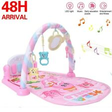 Baby Play Mat Lay and Kids Gym Playmat Fitness Music Fun Piano Boys Girls Carpet
