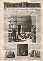 1875 Scientific American March 27 Porcelain manufacture in NY; Ice gathering