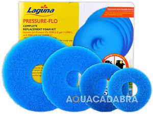 Laguna Pressure Flo Foam Kits - Whole Range 2500-14000 Pond Koi Fish