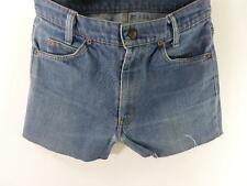 Vintage Denim Shorts cotton Blue size w31 Grade B M337