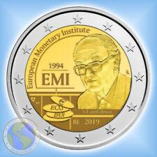 """2 Euro BELGIEN 2019 """" 25 Jahre Europäisches Währungsinstitut - EMI """" lose"""