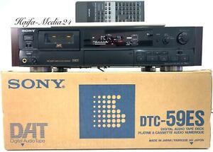 Sony DTC-59ES HighEnd Dat-Recorder Player inkl. FB, BDA und OVP 12 Monate Gewähr