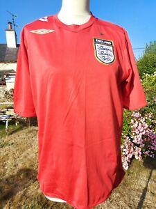 England Football Red Away Shirt 2006-2008 Umbro Size Medium