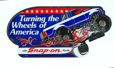 """NEW"" Vintage Snap-on Tools Tool Box Sticker Monster Truck Decal Man CaveSSX1312"