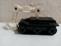 Vintage 1970's Mego Corp Micronauts Black Vehicle with White Robotic Grabber