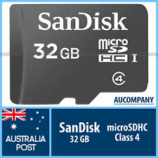 SanDisk Mobile Ultra 32gb Class 10 Micro SD SDHC Memory Card 80mb/s Full HD 2017