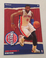 2014/15 Nba Fathead Tradeables #20 Andre Drummond +Pistons Logo Sign 5x7 Graphic