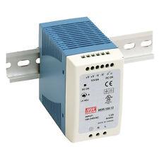 Mean Well Mdr 100 12 Ac To Dc Din Rail Power Supply 12 Volt 75 Amp 90 Watt