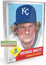 Topps Living Set Bundle George Brett #287, Mike Minor #288