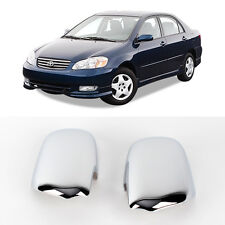 Chrome Side Mirror Cover Molding 2p 1Set For 2001 2006 Toyota Corolla