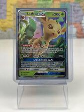 SHIPS SAME DAY Pokemon SM146 Leafeon GX Foil Promo Black Star Rare Card LP/NM