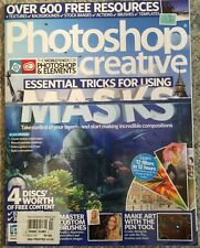 Photoshop Creative Essential Tricks For Using Mask No 124 2015 FREE SHIPPING!
