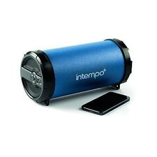 Intempo Ee1274 Rechargeable Large Navy Blue Tube Speaker 2nd