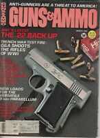 Magazine GUNS & AMMO March 1982 COLT 1862 Pocket Police & Pocket Navy REVOLVERS