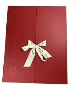 American Girl Doll Red Keepsake BoxWardrobe with Drawers Truly Me F3746