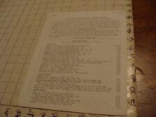 vintage Original Sci Fi paper(s): Gerry de la Ree 1973 list of items for sale