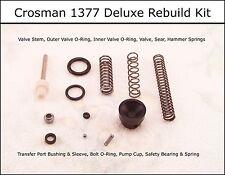 Crosman 1377 P1377 Deluxe Reseal Rebuild O-Ring Seal & Spring Kit