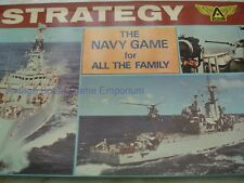 STRATEGY GAME - THE NAVY GAME - 100% - 1974 - ARIEL - MANOEUVRE GAME -BATTLESHIP