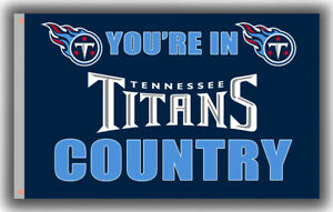 Tennessee Titans Football Country Memorable Flag 90x150cm 3x5ft best banner