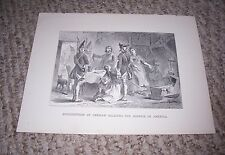 1899 Print CONSCRIPTION OF GERMAN SOLDIERS FOR SERVICE IN AMERICA A Bobbett