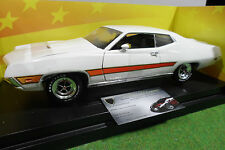 FORD TORINO GT blanc 1970 1/18 AMERICAN MUSCLE ERTL voiture miniature collection